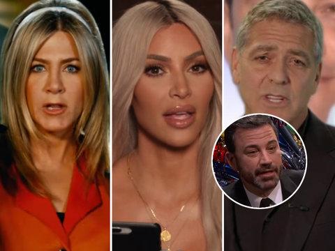 Jimmy Kimmel's Famous Friends Roast Him on His 50th Birthday