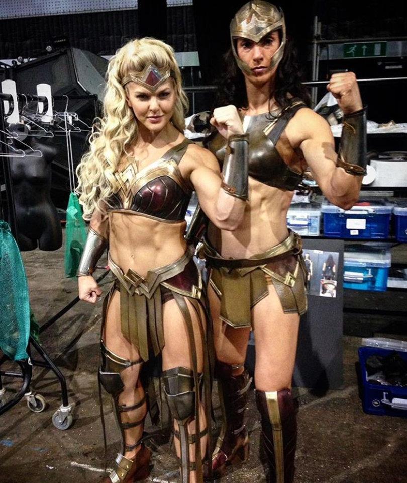 'Justice League' Amazon Costumes Spark Feminist Backlash