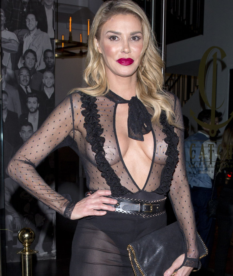 Brandi Glanville Leaves Little to the Imagination at Catch