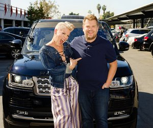 Pink Sings Upside Down With James Corden in 'Carpool Karaoke'