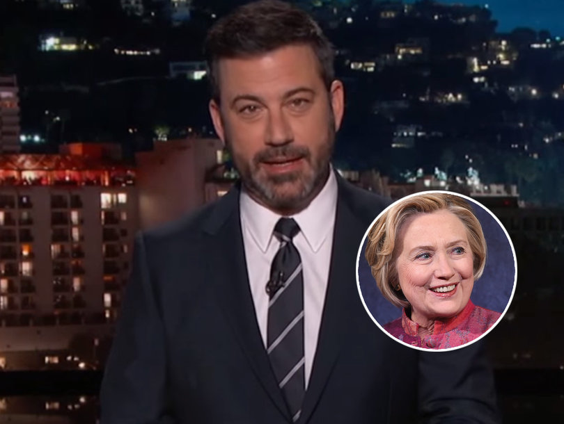 Jimmy Kimmel Asks If Hillary Clinton Should Be Impeached and Way Too Many People Say Yes