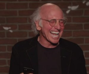 Larry David Can't Stop Laughing While Reading Mean Tweets About Jimmy Kimmel