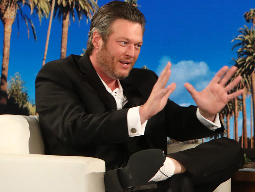 Sexiest Man Alive Blake Shelton Remembers Being 'Fat and Ugly' His Whole Life on 'Ellen'