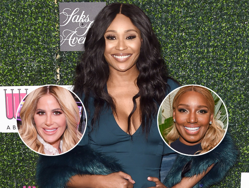 Cynthia Bailey Wants 'RHOA' Co-Star Kim Zolciak to Keep Brielle in Line After Nene Leakes Cockroach Fiasco (Exclusive)