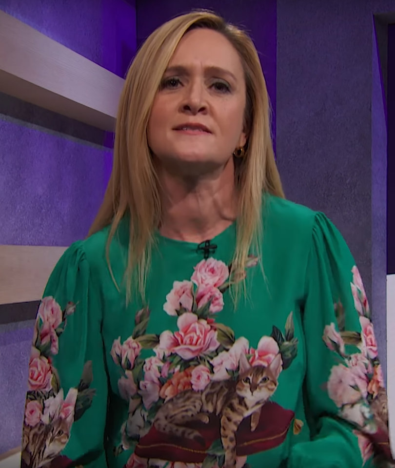 Samantha Bee Unloads on 'Creeps' in Hollywood and Politics