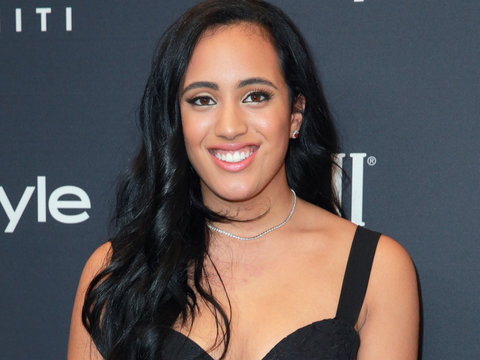 The Rock's Daughter Simone Johnson Named Golden Globes Ambassador