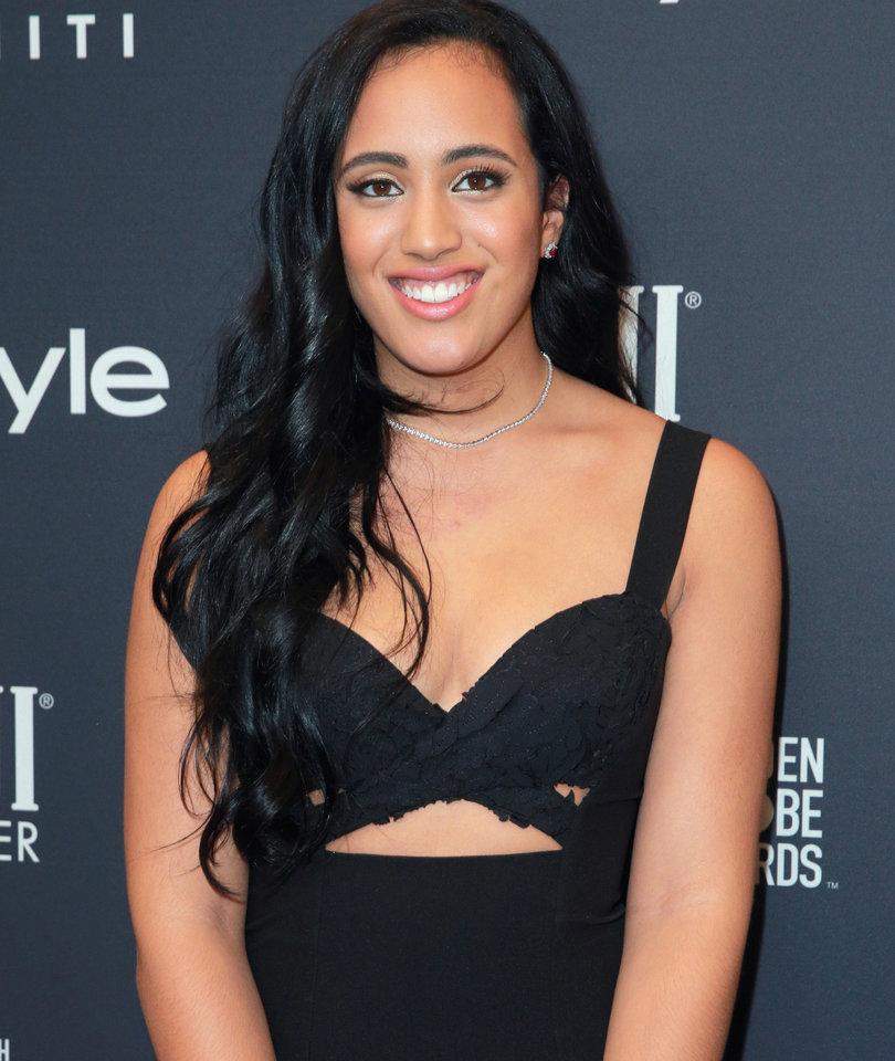 The Rock's Daughter Simone Johnson Named Golden Globes Ambassador