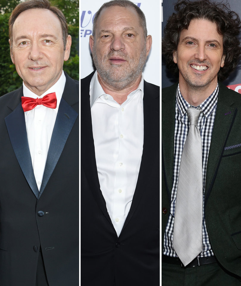 Today in Hollywood Harassment: Kevin Spacey, Mark Schwahn, Weinstein