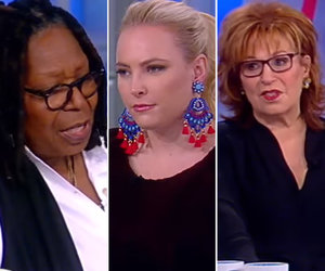 'The View' Condemns Senator Al Franken After Unwanted Kissing and Groping Allegations