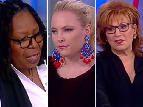 'The View' Condemns Al Franken After Unwanted Kissing and Groping Allegations