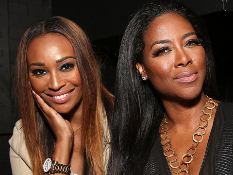 Cynthia Bailey Shuts Down Kenya Moore's Marriage Critics