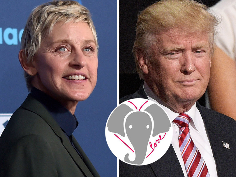 Ellen DeGeneres Bashes Trump for Lifting Elephant Trophy Ban and Launches Kindness Campaign