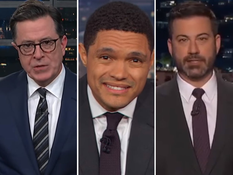 Late-Night Comedians Turn on Al Franken for 'Horrifying' Sexual Misconduct Allegations