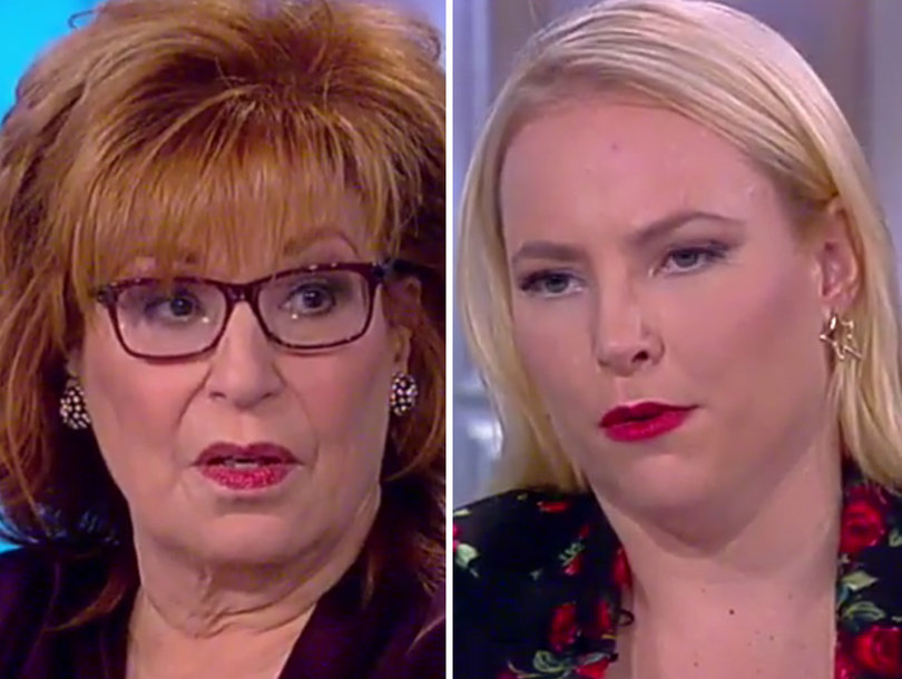 Meghan McCain Snaps at Joy Behar on 'The View' After Fox News Dig and Whoopi's Left Speechless