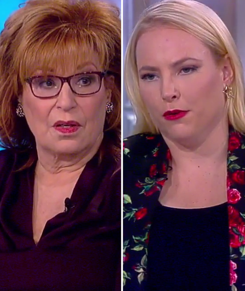 Meghan McCain Snaps At Joy Behar On 'The View' After Fox