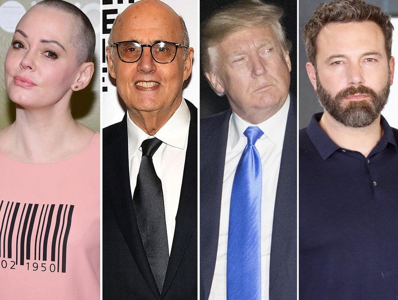 Trump Trolls Al Franken, Rose McGowan Blasts Greta Gerwig
