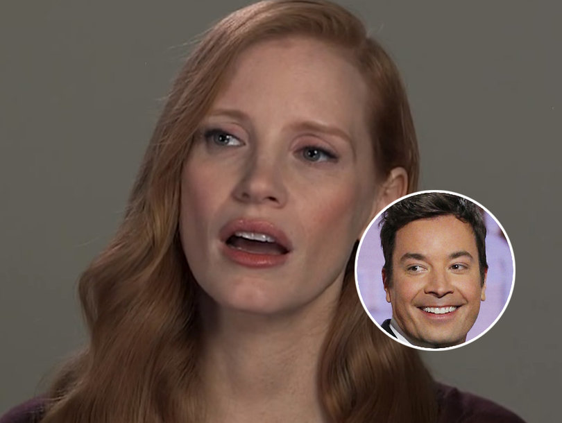 Jessica Chastain, Jimmy Fallon Reenact 'Every Audition Ever' for Actresses in Sexist Hollywood