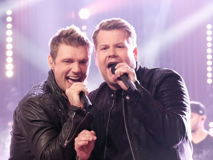 James Corden Joined the Backstreet Boys On-Stage to Perform, and He Killed It