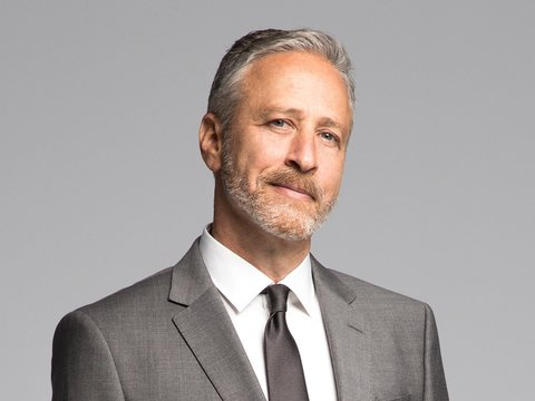 Jon Stewart Roasted by Stephen Colbert, John Oliver, Samantha Bee on 'Night of Too Many…