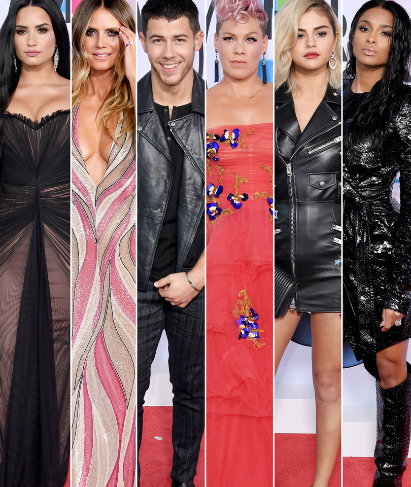 American Music Awards: Every Red Carpet Look You Need to See