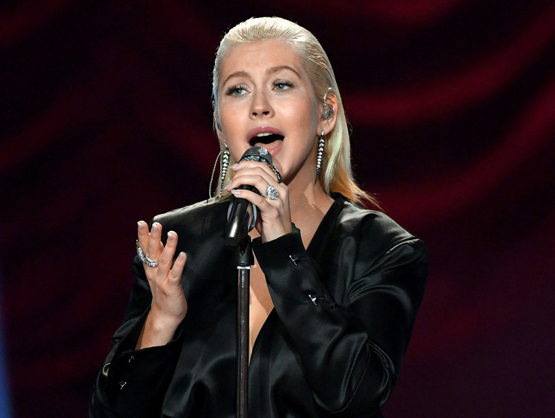 Christina Aguilera Honors Whitney Houston and 'The Bodyguard' with Powerful American Music Awards Performance
