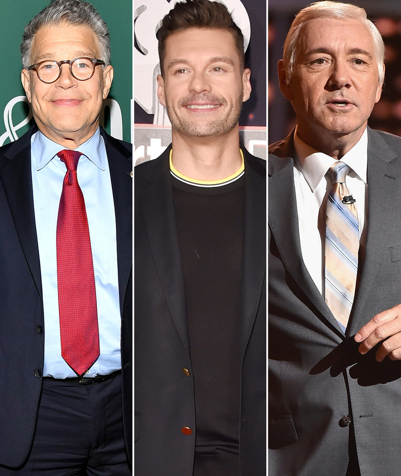 Another Al Franken Accuser, Ryan Seacrest's Denial, More Kevin Spacey