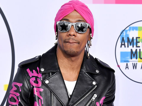 Twitter's Rolling Their Eyes at Nick Cannon's AMA Fashion