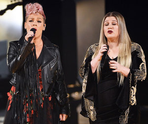 P!nk and Kelly Clarkson Honor First Responders with American Music Awards Duet