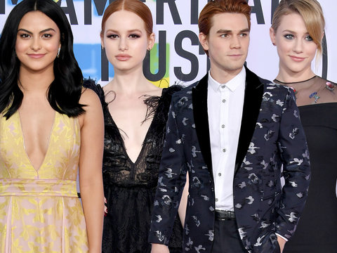 The Cast of 'Riverdale' Cleans Up Nicely for the American Music Awards