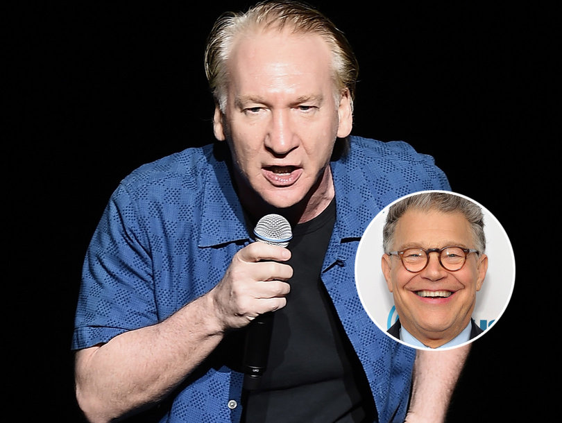 Bill Maher Slams New York Post's Al Franken Groping Cover as 'Insult to Any Real Victims'