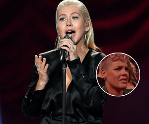 P!nk Disputes 'Riff' With Christina Aguilera After AMA Performance Reaction Was…