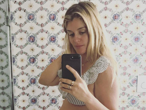 Daphne Oz Bares It All at 38 Weeks Pregnant