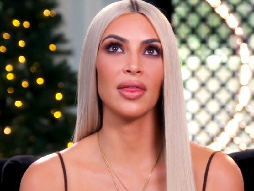 Kim Kardashian's Claws Come Out Over Christmas Decorations on 'KUWTK' Holiday Special
