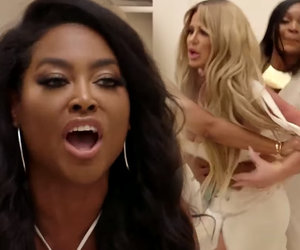 Kenya Moore Attacks Kim Zolciak for 'Pimping' Daughter Brielle Biermann
