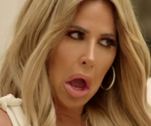 Kenya Moore Hurls Transgender Insult at Kim Zolciak in 'RHOA' Clip