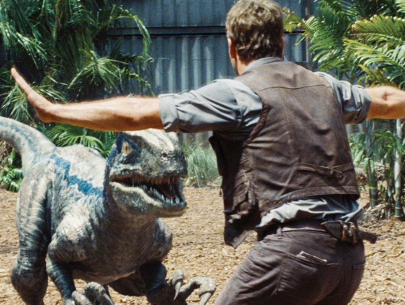 First 'Jurassic World: Fallen Kingdom' Footage With Chris Pratt Is 6 Seconds of 'Awww'