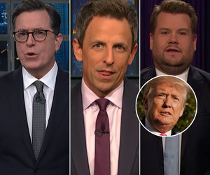 Late-Night Comedians Celebrate Thanksgiving by Serving Trump Jokes
