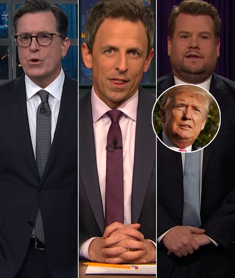 Late-Night Comedians Feast on Trump's 'Ominous' Turkey Pardon