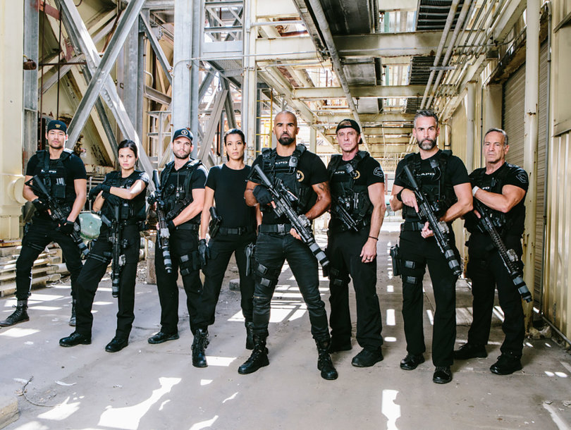 Shemar Moore's 'S.W.A.T.' Goes Back to College in Explosive Thanksgiving Episode (Exclusive Video)
