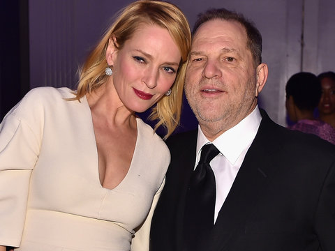 Uma Thurman Takes Aim at Harvey Weinstein: 'You Don't Deserve a Bullet'
