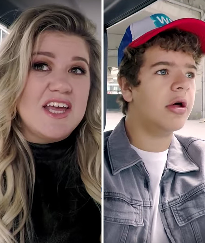 Kelly Clarkson Duets With 'Stranger Things' Star Gaten Matarazzo