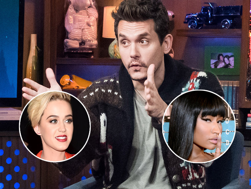 John Mayer Keeps Tabs on Ex Katy Perry and Thinks About Nicki Minaj