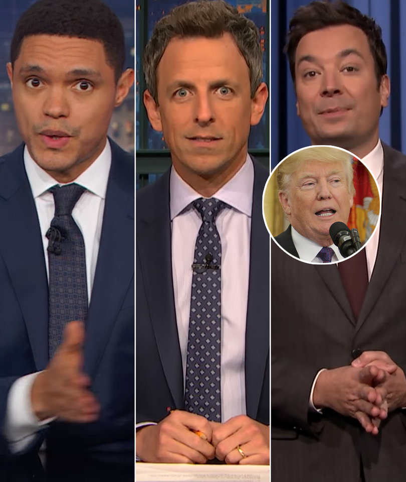 Late-Night Stars Trample Trump for Poorly Timed 'Pocahontas' Jab