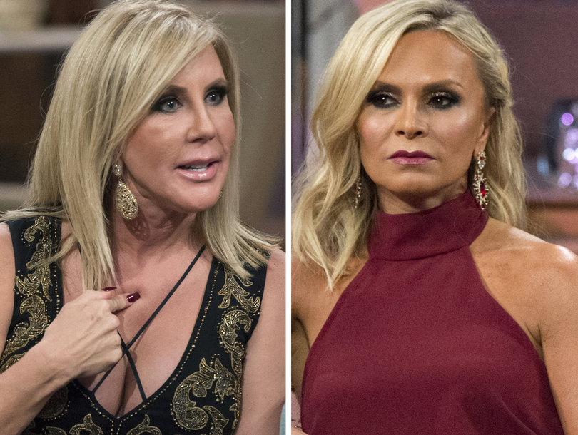 Tamra Slams Vicki Over Gay Rumors on 'RHOC' Reunion: 'Hang With F-cking Dogs, You Get Fleas'