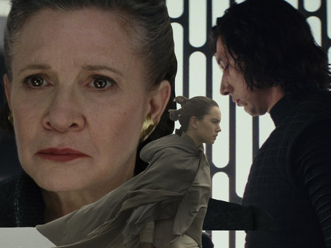 6 'Last Jedi' Revelations on Carrie Fisher, Typecasting and Blind Luke Skywalker
