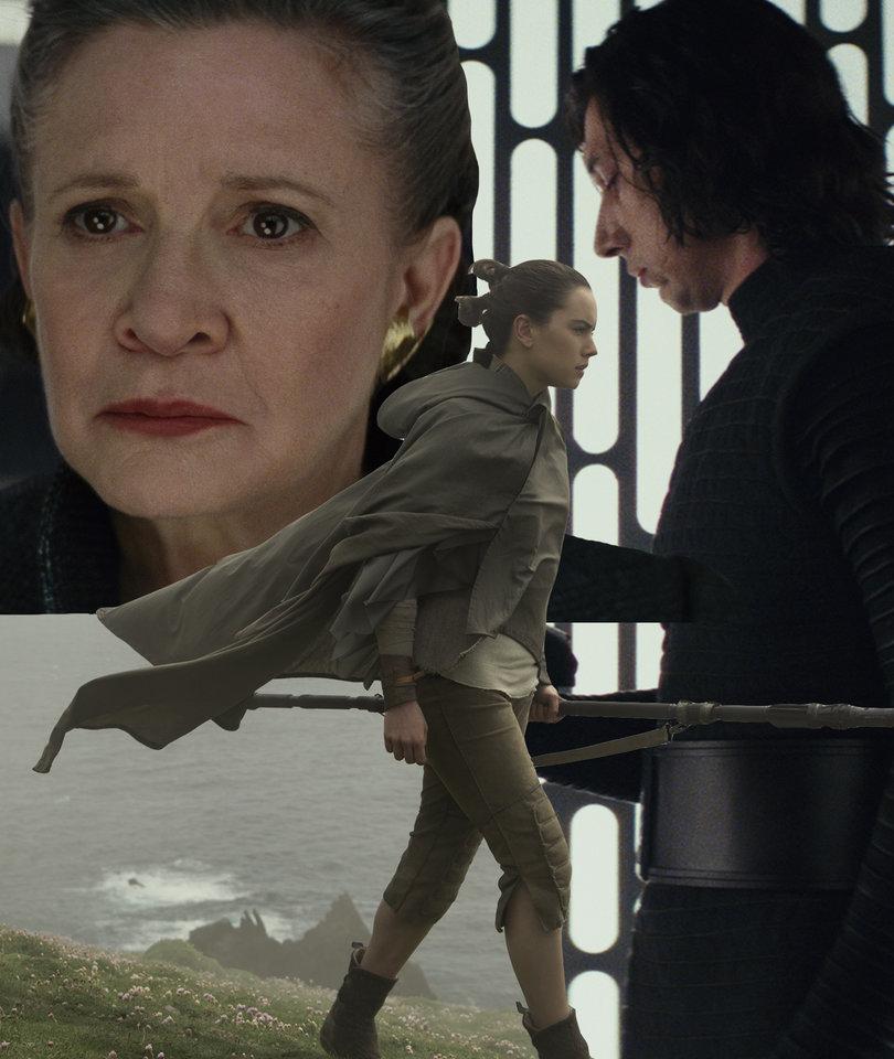 6 'Last Jedi' Revelations on Carrie Fisher, Typecasting and Blind Luke Skywalker