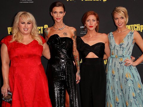 The Ladies of 'Pitch Perfect' Step Out In Australia