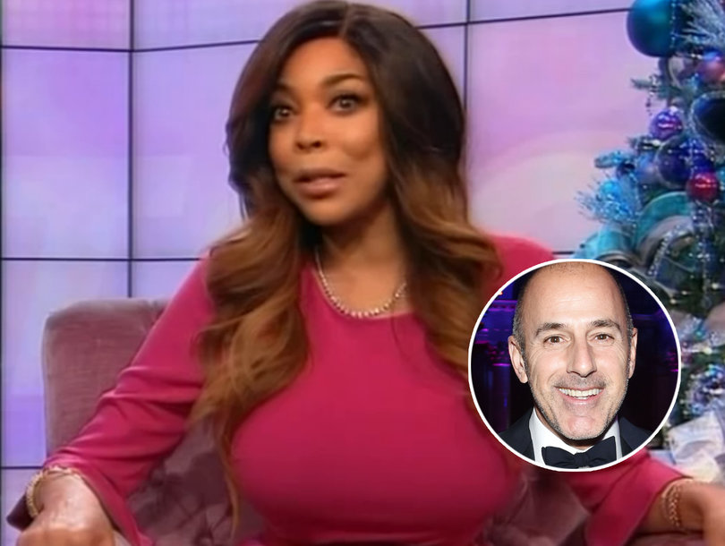 Wendy Williams Hopes 'Today' Won't Replace 'Lecher' Matt Lauer with a Woman