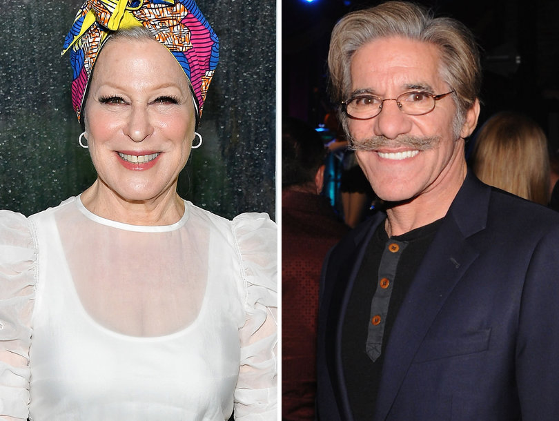 'Me Too': Bette Midler Doubles Down on Groping Allegation Against Geraldo Rivera