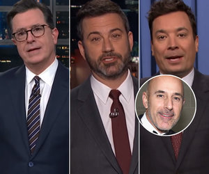 Late-Night Hosts Lay Into Matt Lauer and Tear Apart Trump's Response